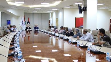 اجتماع المؤسسة الوطنية للنفط مع شركة بيوناس الماليزية