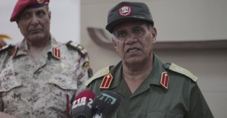 آمر منطقة الكفرة العسكرية العميد بلقاسم الأبعج
