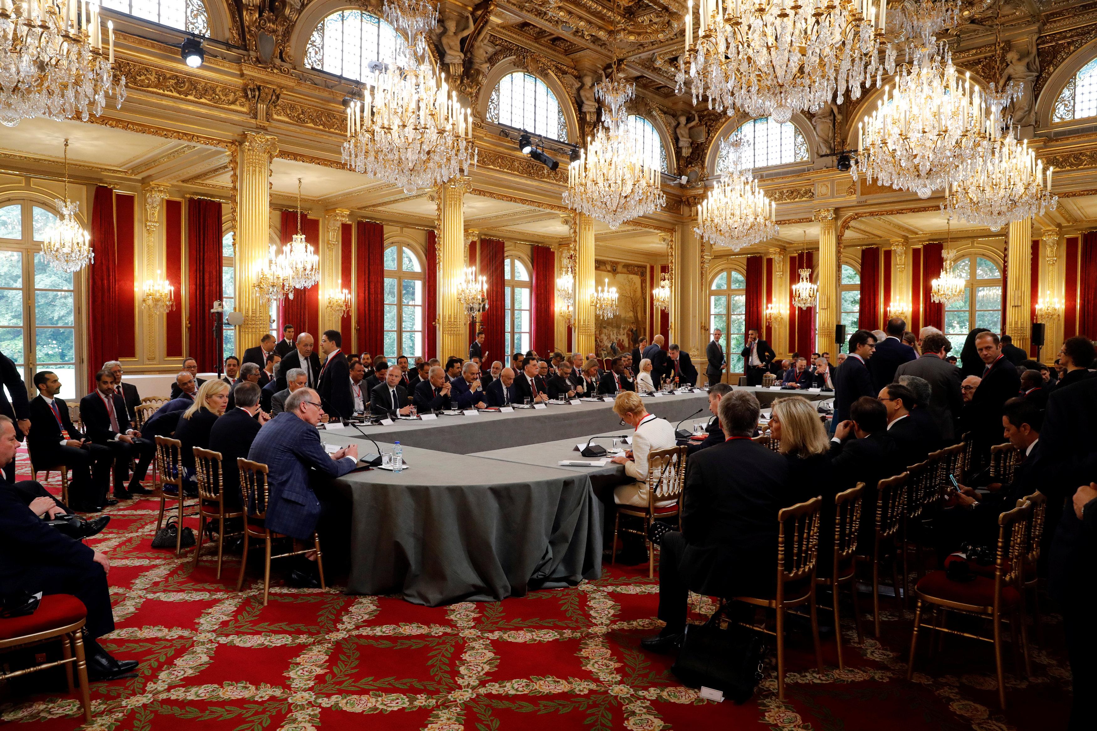 المؤتمر الدولي حول ليبيا في باريسالمؤتمر الدولي حول ليبيا في باريس