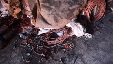 سرقة الكوابل النحاسية بمدينة بنغازي