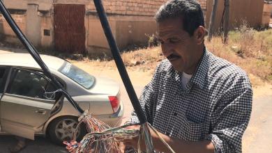 صيانة خطوط وكوابل الاتصالات