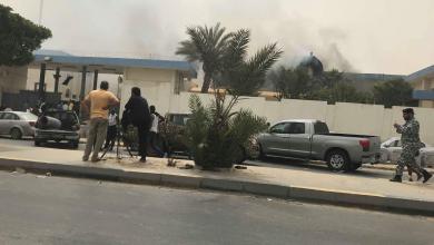 Photo of تفجير انتحاري يستهدف مقر المفوضية بطرابلس