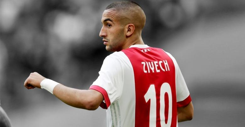النجم العربي حكيم زياش يسجل هدف رائع في مرمى ريال مدريد