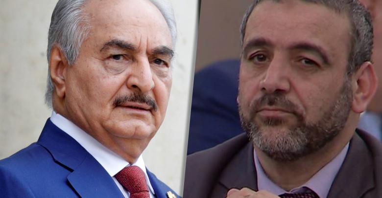 خالد المشري والمشير خليفة حفتر