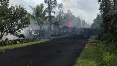 صورة زلازل وبراكين تضرب هاواي وترعب السكان