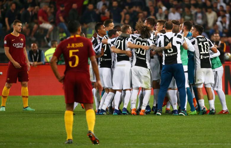 أحراز يوفنتوس لقب دوري الدرجة الأولى الإيطالي لكرة القدم للمرة السابعة على التوالي