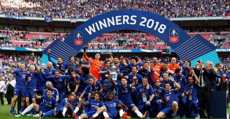 نادي تشيلسي يفوز كأس الاتحاد الانجليزي لكرة القدم