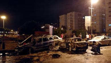 تفجير الإرهابي بمدينة بنغازي