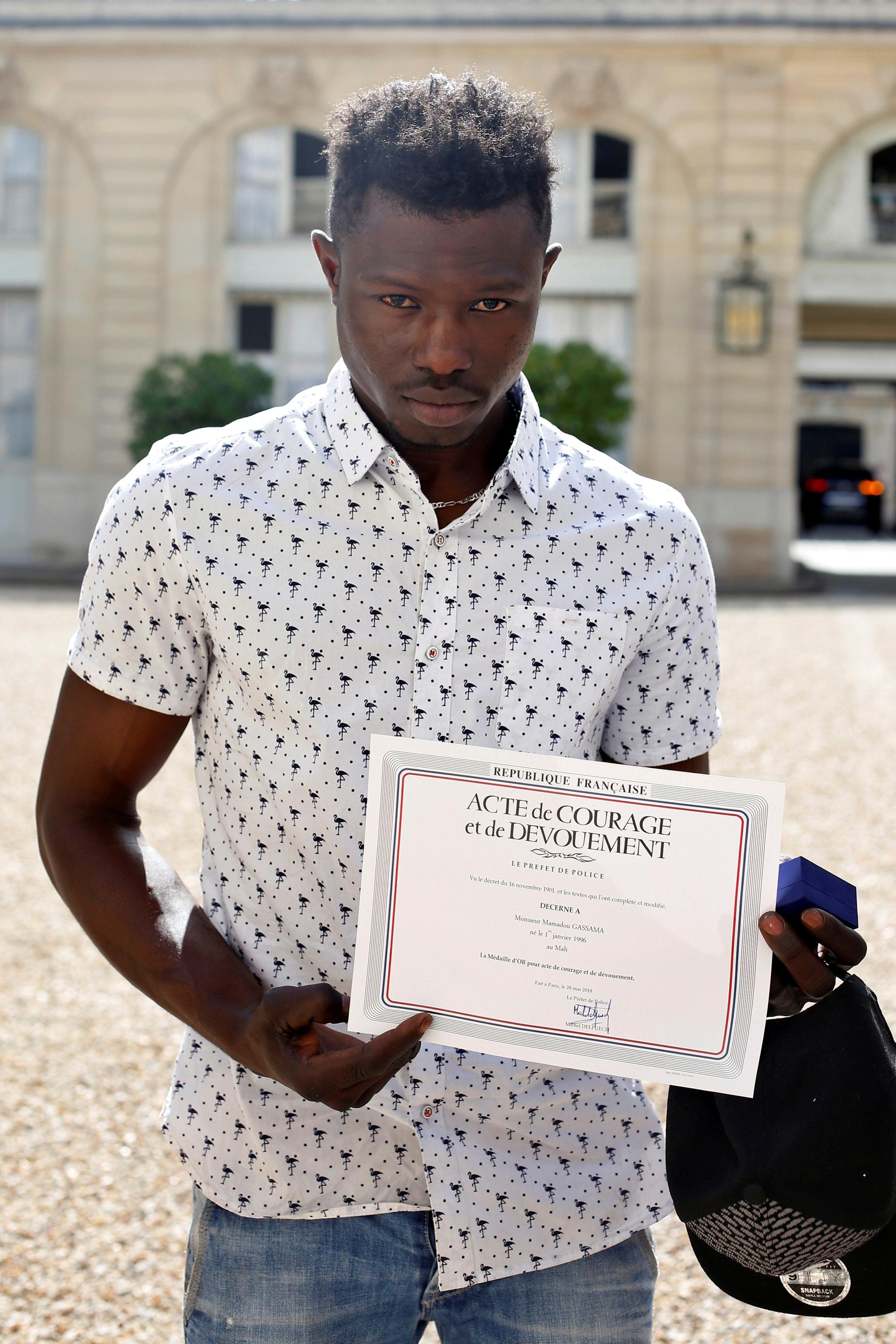 مهاجر من مالي