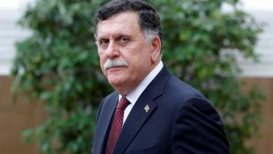 رئيس المجلس الرئاسي لحكومة الوفاق الوطني فائز السراج في المؤتمر الدولي بباريس