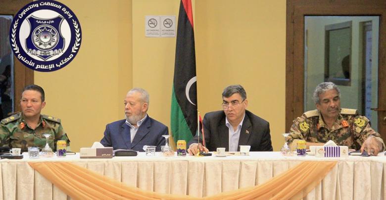 الأجهزة الأمنية والجهات العسكرية المسؤولة عن تأمين طرابلس