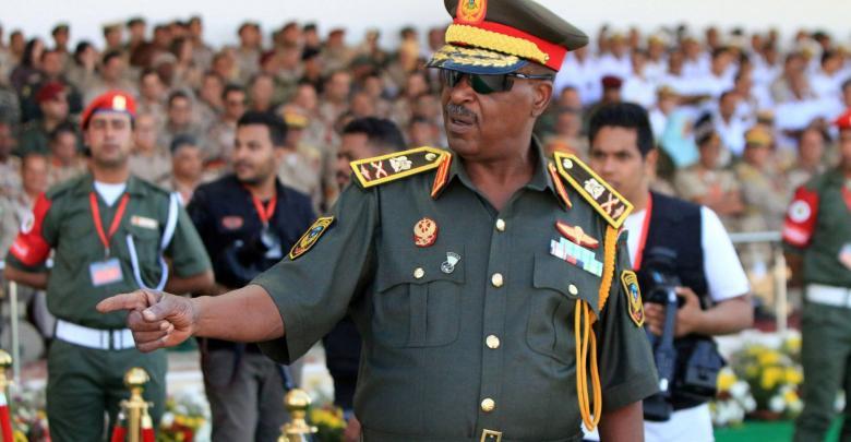 آمر القوات الخاصة الصاعقة اللواء ونيس بوخمادة - تصوير عبدالله دومة