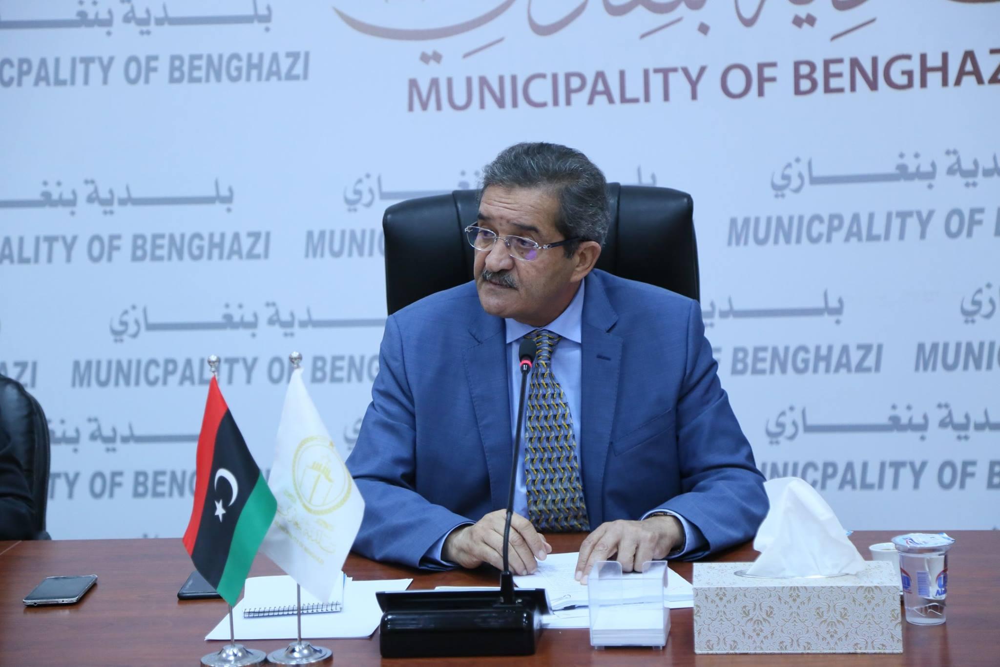عميد بلدية بنغازي عبدالرحمن العبار