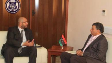 وزير الداخلية المفوض بحكومة الوفاق الوطني العميد عبدالسلام عاشور