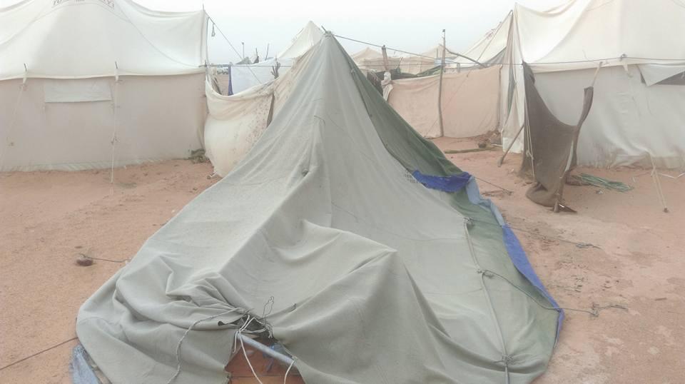 مخيم قرارة القطف