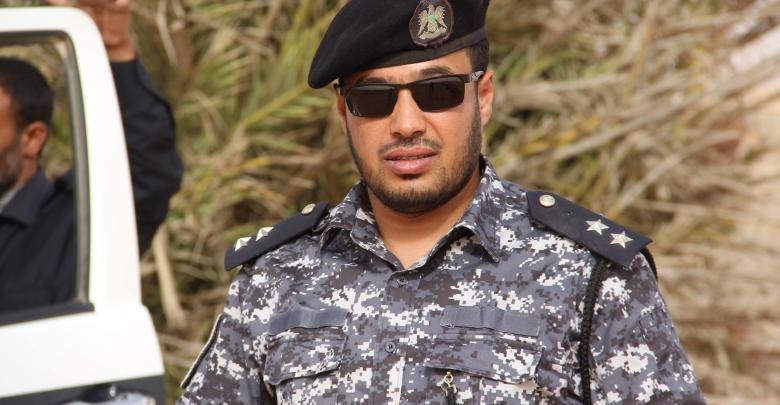 ملازم أول محمد بوهنية بقسم البحث الجنائي التابع لمديرية أمن بئر الاشهب