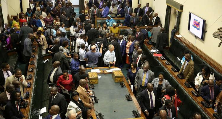 برلمان زيمبابوي