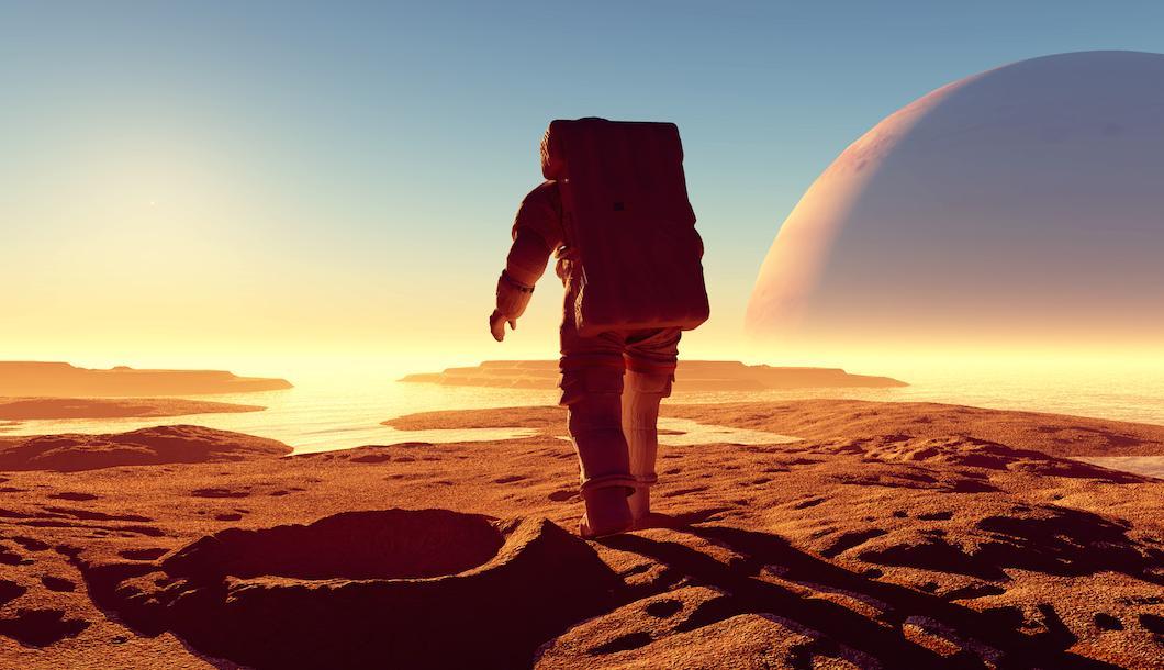 المريخ تحت اختبارات البشر