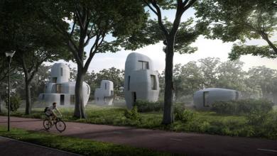 منازل بتقنية3D