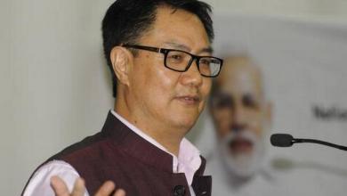 وزير الاتحاد الهندي كيرين ريجيجيو