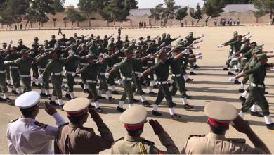 تخريج دفعة من منتسبي الجيش الوطني