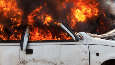 انفجار سيارة - صور تعبيرية
