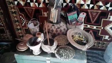 جمعية البيت الأصيل للفنون والتراث تنظم بازارا شعبيا بعنوان قفة رمضان في سبها