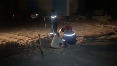 انقطاع التيار الكهربائي بمدينة القطرون