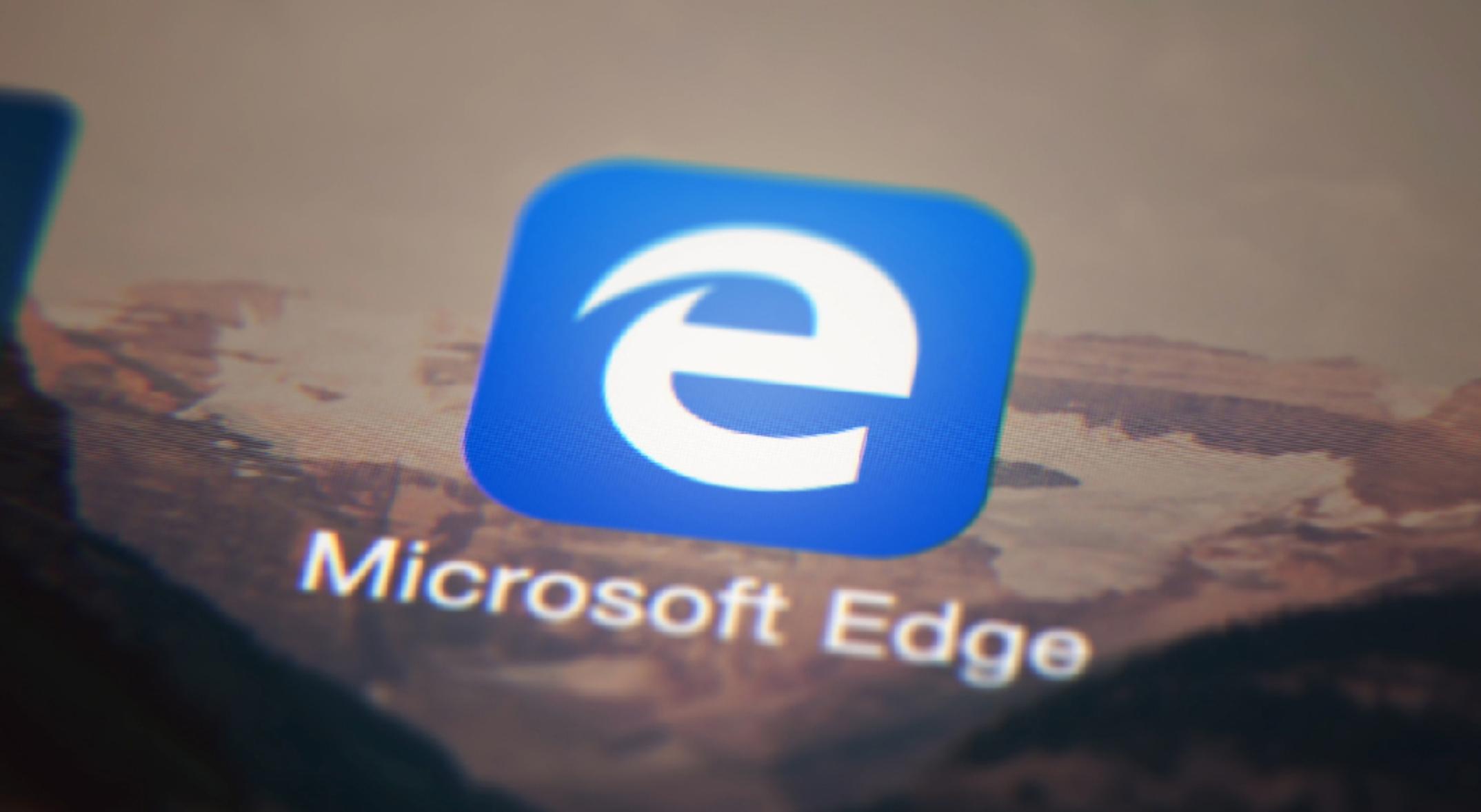 المتصفح مايكروسوفت إيدج