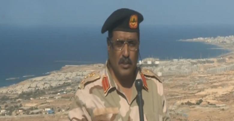 الناطق الرسمي باسم الجيش الوطني العميد أحمد المسماري