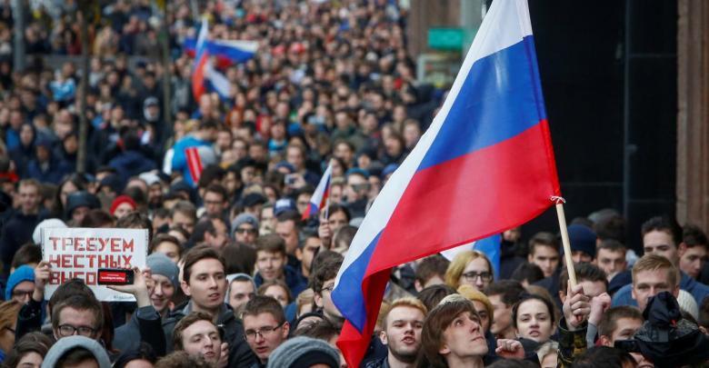 المعارضة الروسية تدعو بوتين للتنحي