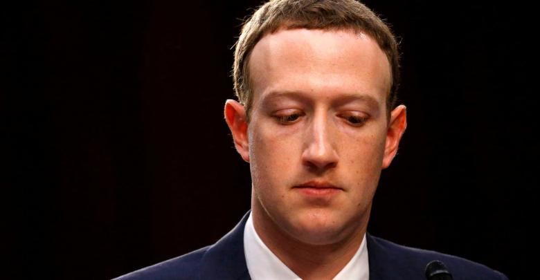 الرئيس التنفيذي لشركة فيسبوك مارك زوكربرغ