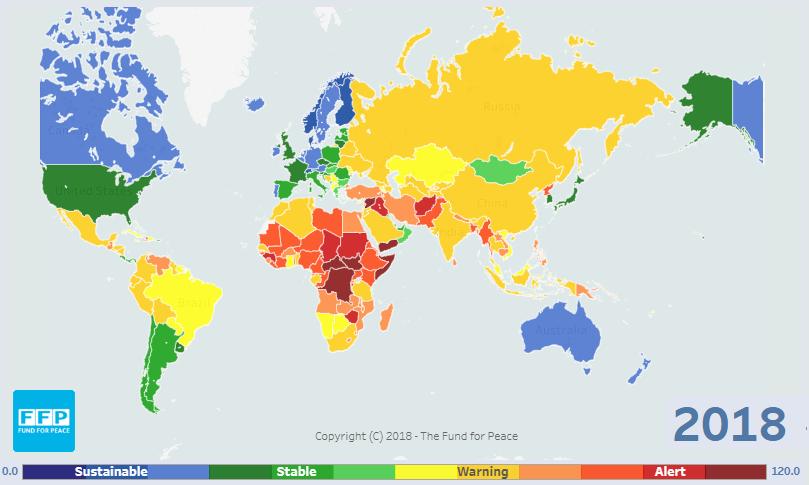 مؤشر الدول الهشة