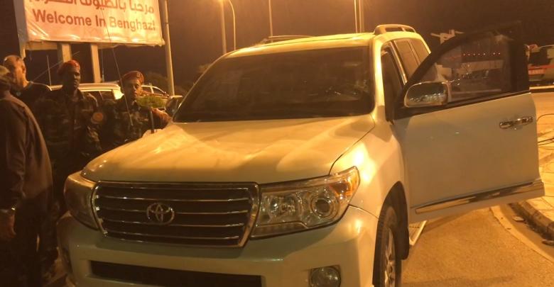 سيارة اللواء جمال الزهاوي المُصفحة