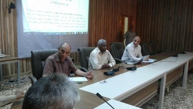 أعمال الجلسة التشاورية بين المنتدى الأكاديمي وعدد من مؤسسات المجتمع المدني