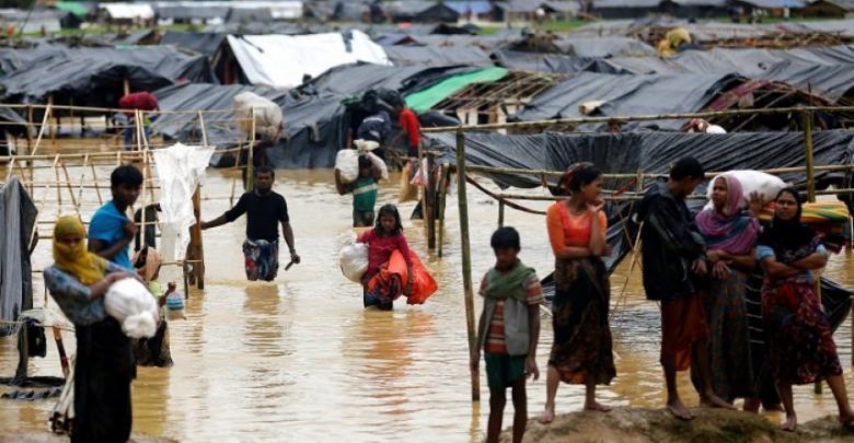 أمطار قوية في بنغلاديش