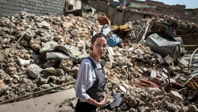 أنجيلينا جولي في الموصل