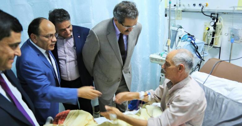 افتتاح قسم قسطرة حديث في بنغازي
