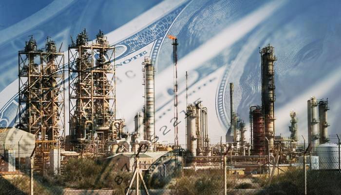الهلال النفطي والدولار