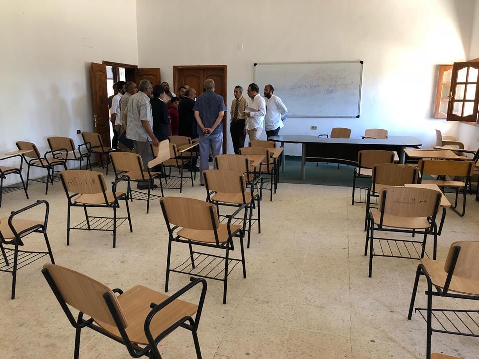 تجهيزات متواصلة لامتحانات الشهادة الثانوية