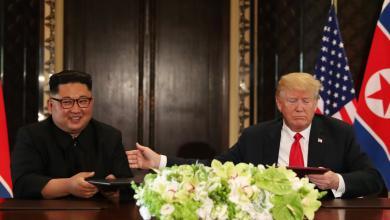 "Photo of ترامب وكيم جونغ يقتنعان باستحالة ""لغة الصواريخ"""