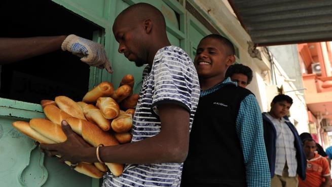 طابور خبز