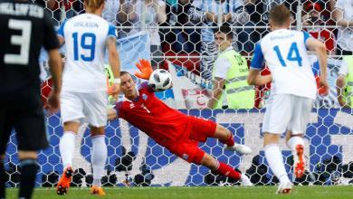 مباراة الأرجنتين وأيسلندا
