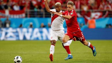 مباراة الدنمارك والبيرو