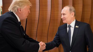 الرئيس الروسي فلاديمير بوتين والرئيس الأميركي دونالد ترامب