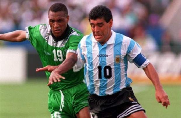 نيجيريا أمام الأرجنتين 1994