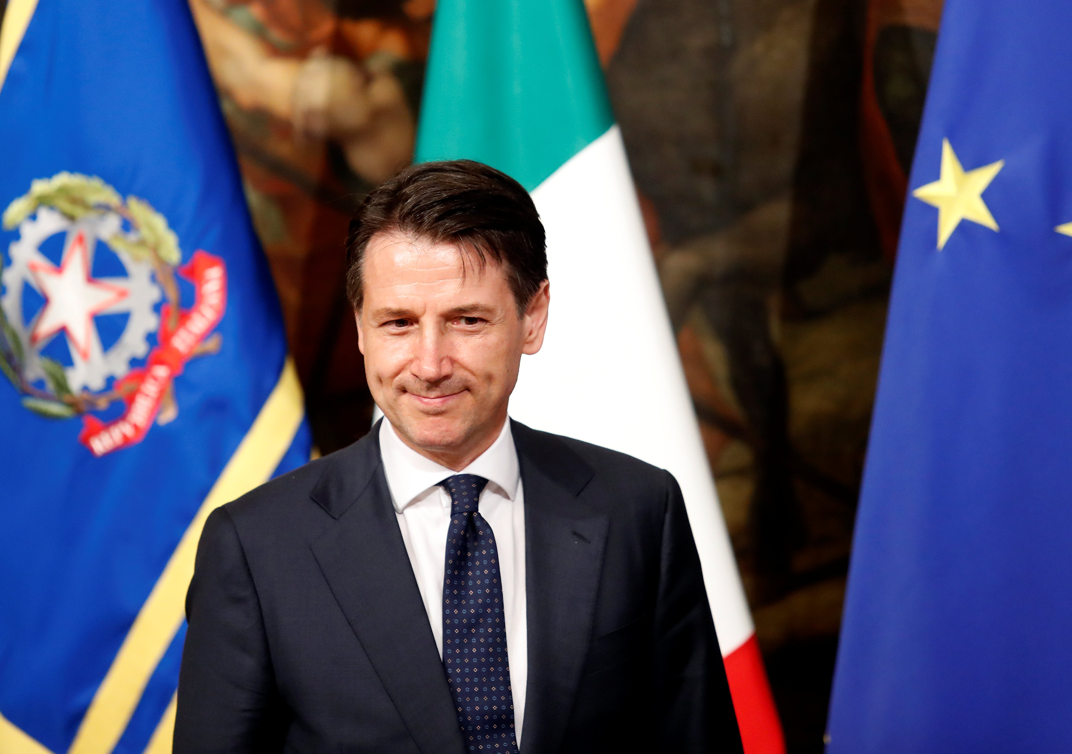 رئيس الوزراء الايطالي جوزيبي كونتي