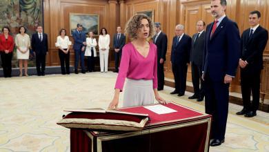 وزيرة الإدارة المحلية في إسبانيا ميرتل باتت
