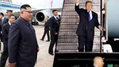 دونالد ترامب وكيم جونج أون بطريقهم للقمة التاريخية