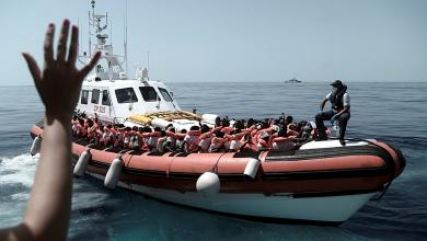 Photo of إنقاذ 65 مهاجراً قبالة سواحل ليبيا